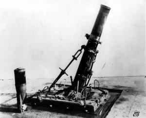 World War 1 Trench Mortars