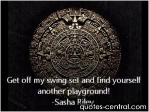 Swing Set Quotes