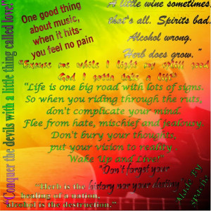 Bob Marley's Truly Inspirational Quotes Posters