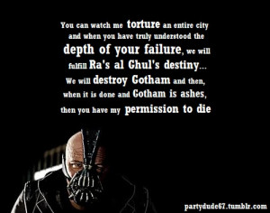 ... Quotes, The Dark Knights Rise Quotes, Quote'S Lov, Bane Quotes, Bane O