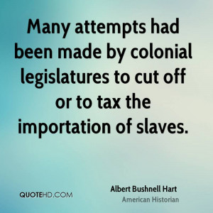 Albert Bushnell Hart Quotes