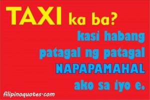 Cheesy Pinoy PickUp Lines (May 2012)