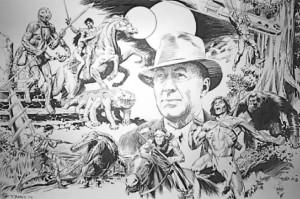 John Barth, Edgar Rice Burroughs, John Carter, and the