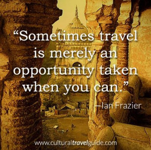 ... Ian Frazier Please comment and re-pin! #travel #cultural #opportunity
