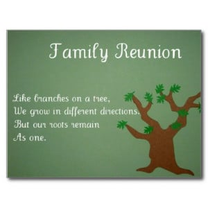 Family Reunion Postcard...