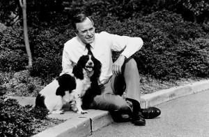 President George H. W. Bush and Millie The springer spaniel's book ...