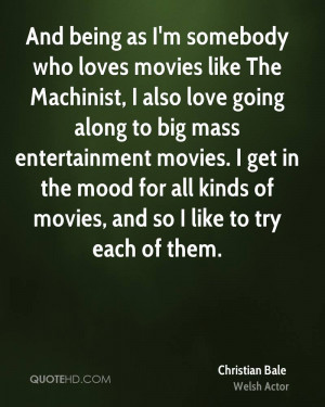 Christian Bale Movies Quotes