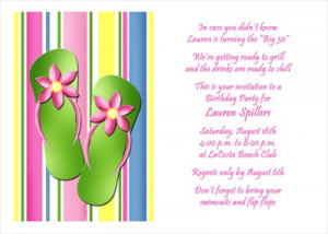 Summer Birthday Party Invitations Cards areBecoming Very Popular!