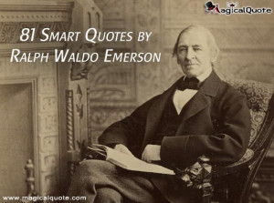 Ralph Waldo Emerson was an American Transcendentalist poet ...