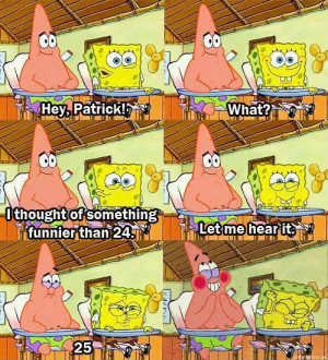 Spongebob And Patrick Best Friends Quotes