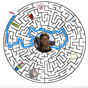 richard dean anderson macgyver maze answer key
