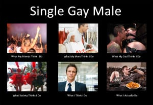 Single Gay Male Stay At Home