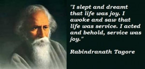 Rabindranath tagore famous quotes 2