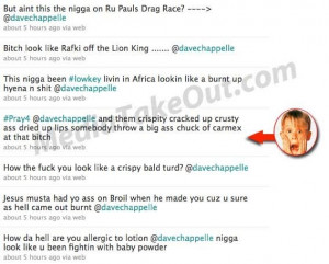 MTO REPORTS - Katt Williams and Dave Chapelle tweets