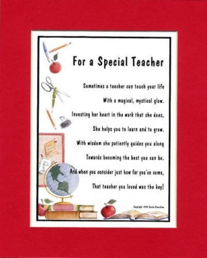 Search Results for: Kindergarten Teacher Poems