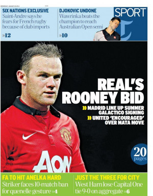 wayne rooney real madrid 600x768 Real Madrid Prepare Summer Bid For ...