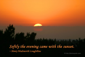 Quotes About Sun Sets