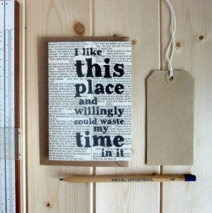 Shakespeare Quote Housewarming Card 'I like this by BookishlyUK, £2 ...