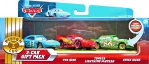 Finish Line Lightning McQueen (lenticular), Chick Hicks (lenticular v2 ...
