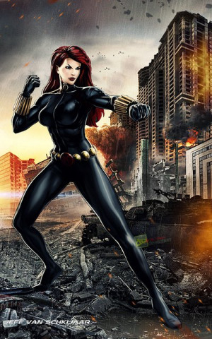 Black Widow Natasha Marvel Avengers Alliance By Jeffery10