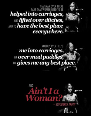 Ain't I a Woman? by Sojourner Truth as performed by Kerry Washington ...