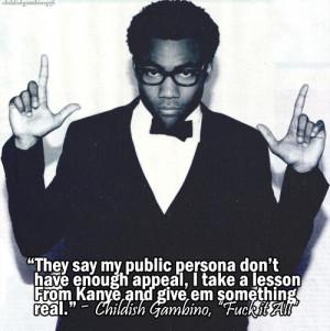 Donald Glover Childish Gambino Quotes