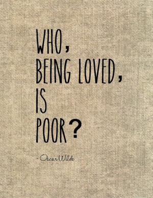 Oscar Wilde love quote typography graphic print dictionary art - Who ...