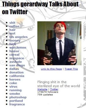 Gerard Way Funny Quotes