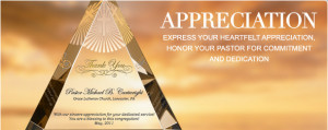 Pastor Appreciation Gift Plaques & Wording Ideas