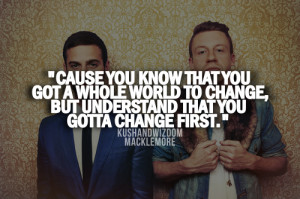 macklemore quotes | Tumblr | We Heart It