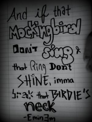 Eminem Mockingbird Quote by Yanirose