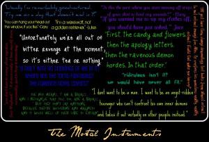 Quote Mortal Instruments Fan Art Kootation