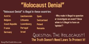 HolocaustDenial Anti Semitic death bubbles