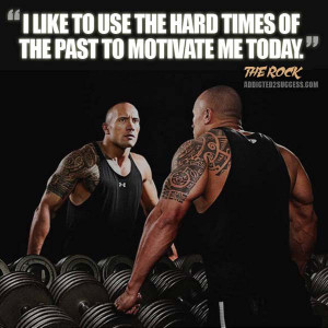 Dwayne Johnson Inspirational Picture Quote