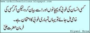 Fablous Word Hazrat Ali