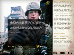 Full Metal Jacket Diary offers a close look at a classic film.