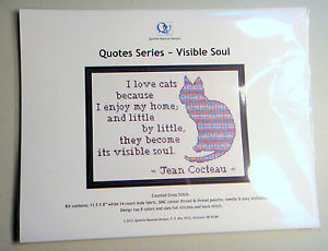 Counted-Cross-Stitch-Kit-Illustrated-Jean-Cocteau-Cat-Quote