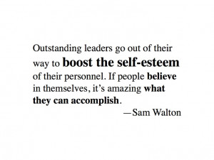 Sam Walton #inspirational #quote on leadership