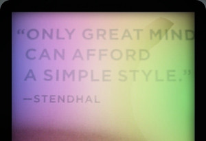 stendhal #quotes