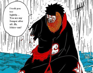 Tobi Uchiha Colored Manga Page Image