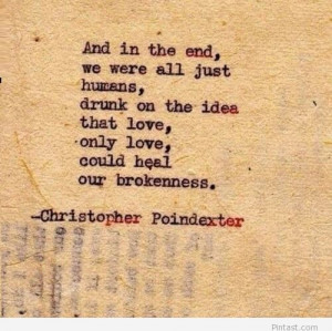 Christopher Poindexter love quote