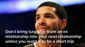 Don't bring baggage from an ex relationship into your next ...
