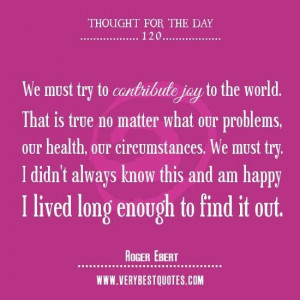 ... to contribute joy giving quotes contribution quotes thought of the day