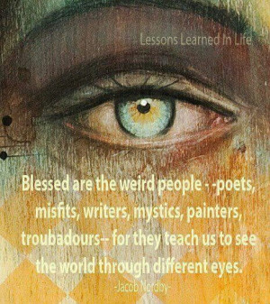 Yes we do see things differently