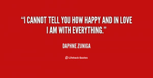 """cannot tell you how happy and in love I am with everything."""""""