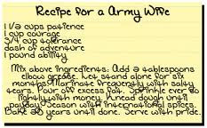 Recipe for an Army Wife » taracrooks.com