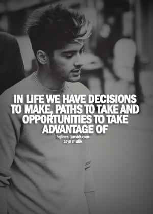 Zayn Malik Quotes and Sayings