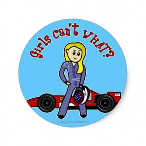 Racing Sayings Stickers