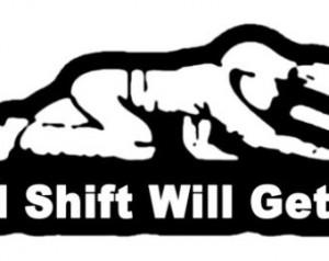 3rd Shift Coal Miner Funny Bumper S ticker 5