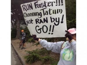 Funny Marathon Signs Ideas